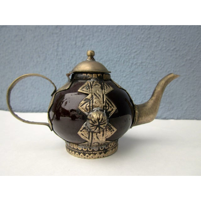 Moroccan Tea Pot Collection Boho Chic - Image 4 of 11
