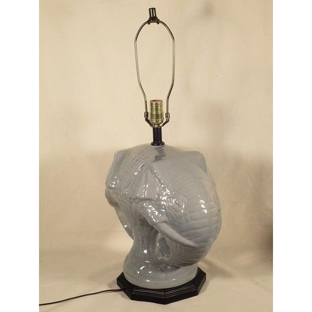 Elephant Head Table Lamp - Image 4 of 4