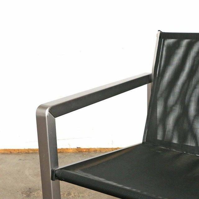 Giuseppe Raimondi Design Modern Aluminum Cube Chairs For Sale In San Francisco - Image 6 of 13