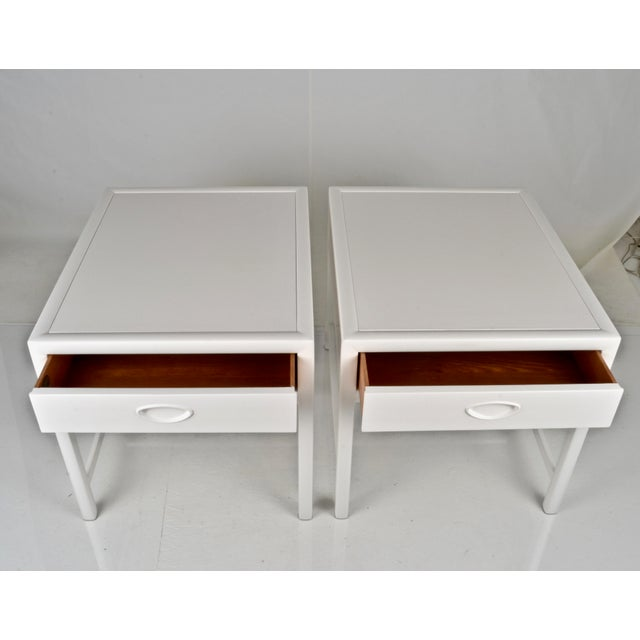 Baker Furniture Company Baker End Tables Circa 1950s For Sale - Image 4 of 9