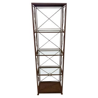 1940s Industrial Shelf Until or Étagère For Sale
