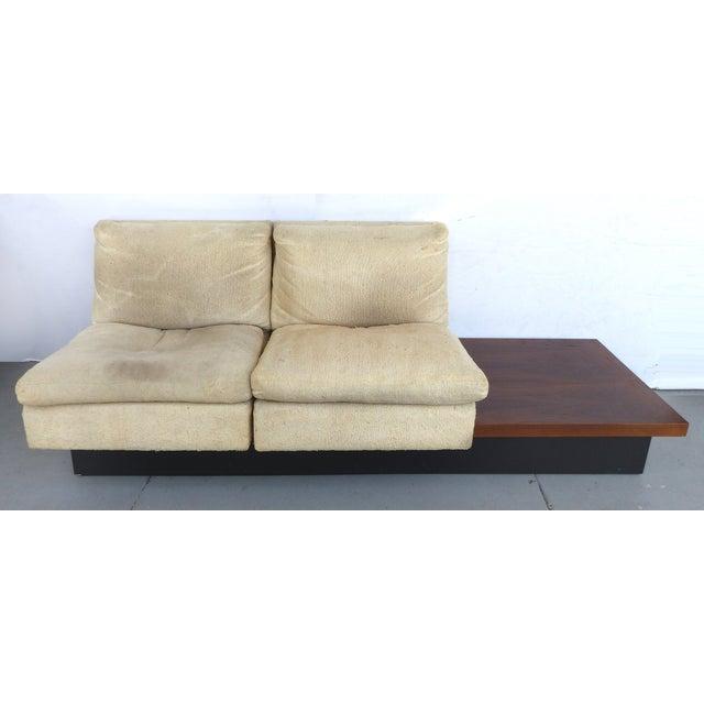 Pearsall-Style Modular Platform Sofa - Image 2 of 9