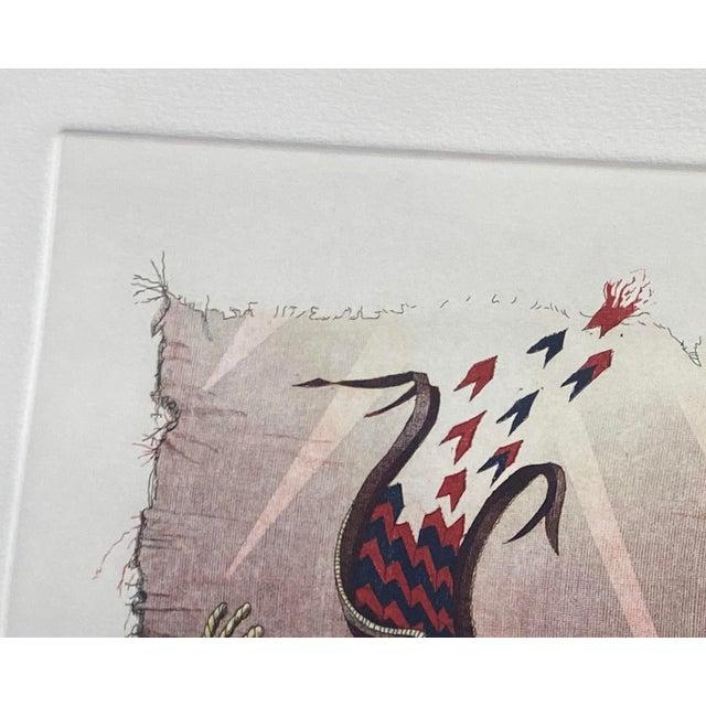 "Black ""Metamorphosis"" Etching by Bruce Weinburg For Sale - Image 8 of 11"