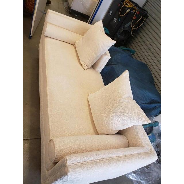 Traditional Kravet Andante Plain Sofa For Sale - Image 3 of 10