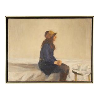 1970s Vintage Richard Segalman Painting For Sale
