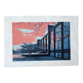 Pop Art Serigraph by Hiroshi Ariyama, 'State and 34th' For Sale