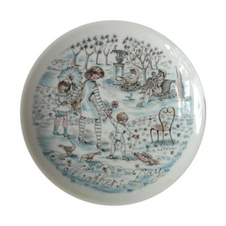 """""""The Park"""" French Decorative Plate"""