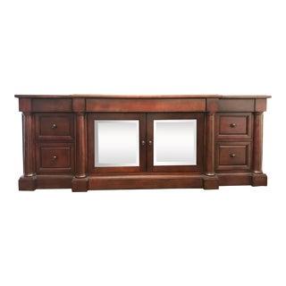 Restoration Hardware Mahogany Cabinet