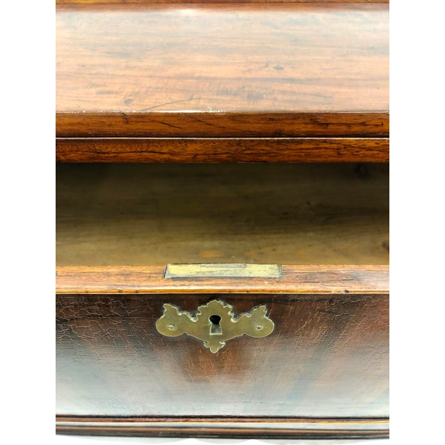 Metal Antique Secretary Cabinet For Sale - Image 7 of 13