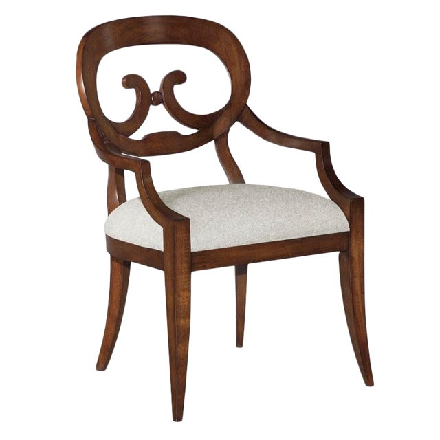 Modern Brown Arm Chair For Sale