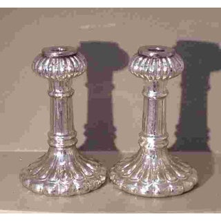 Pr. Of C. 1930 American Glass Candlesticks Preview