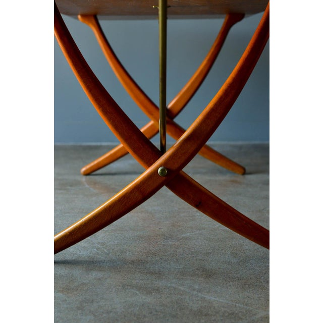 Hans Wegner for Andreas Tuck Model At-304 Dining Table, Circa 1955 For Sale - Image 9 of 13
