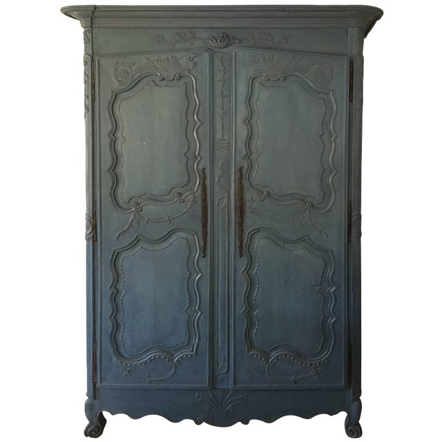 Late 18th Century French Louis XV Period Armoire, Circa 1780 For Sale - Image 5 of 5
