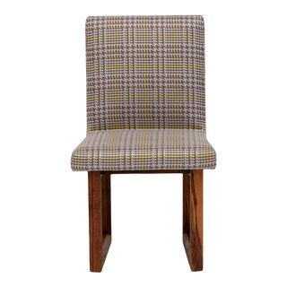 C2 Houndstooth Oak Chair For Sale