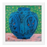 "Image of Small ""Persian Vase"" Print by Jelly Chen, 16"" X 16"" For Sale"