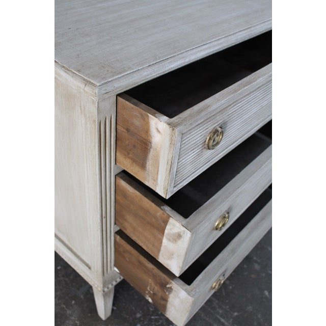 20th Century Vintage Swedish Gustavian Style Nightstands - A Pair For Sale - Image 11 of 13