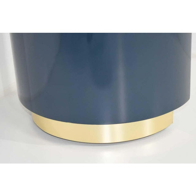 Blue Jay Spectre or Karl Springer Style Console For Sale - Image 8 of 9