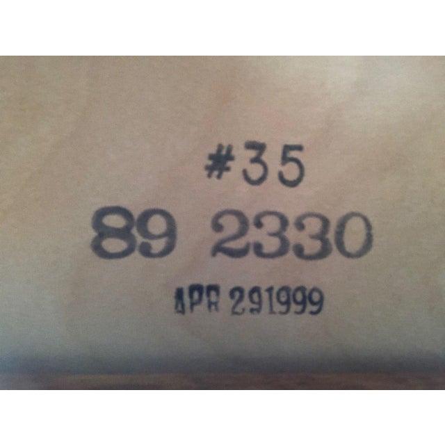 Stickley Custom Oak Office Workstation For Sale - Image 12 of 12