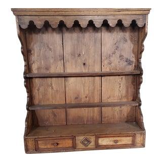 19th Century American Shelf For Sale