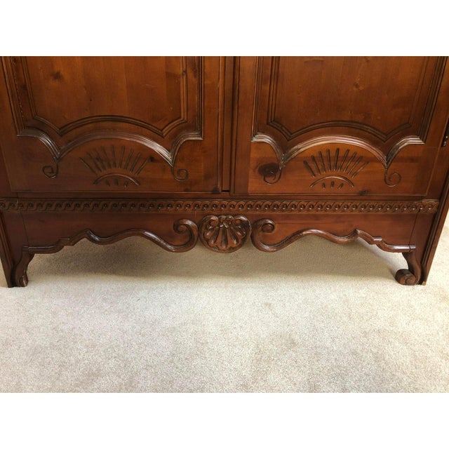 1990s Traditional Spanish Armoire For Sale - Image 10 of 13
