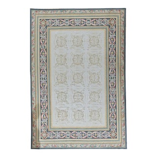 """Pasargad Aubusson Hand Woven Wool Rug - 9' 9"""" X 14' 4"""""""