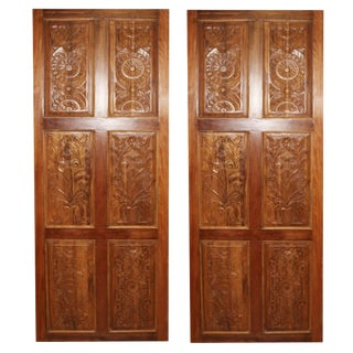 19th Century Antique Door-a Pair For Sale