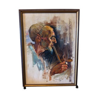 Oil Painting by Cyrus Afsary For Sale