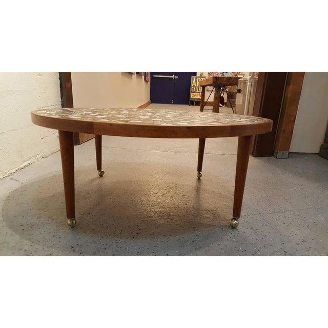Gordon Martz Martz Mosaic Tile Coffee Table For Sale - Image 4 of 7