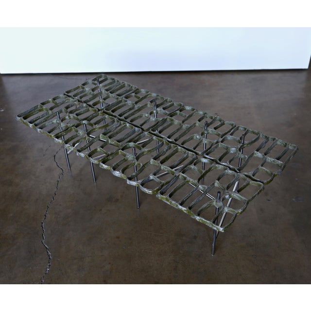 Donald Drumm Mid Century Sculptural Coffee Table by Donald Drumm For Sale - Image 4 of 12