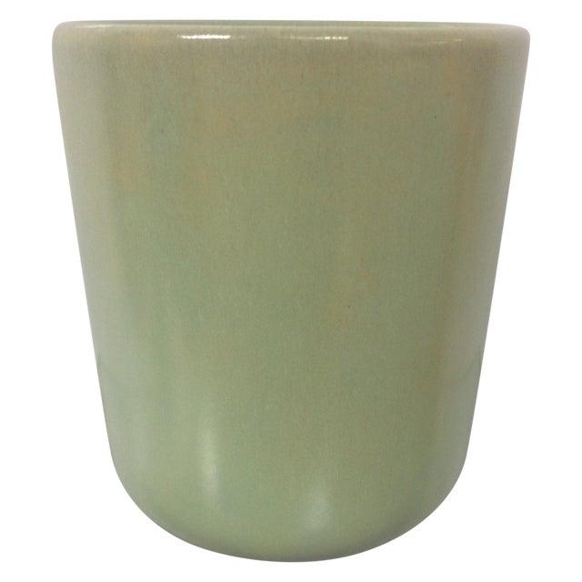 Pastel Green La Solana Pottery Vase For Sale
