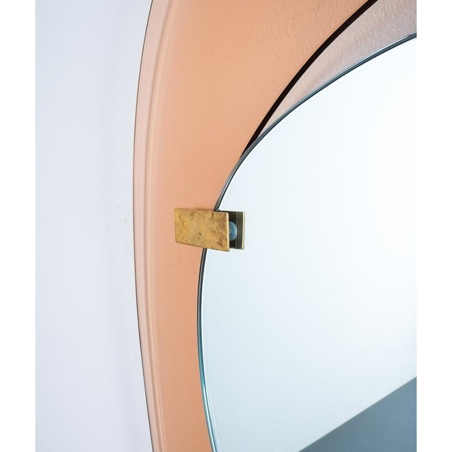 Max Ingrand Fontana Arte Mirror by Max Ingrand, Italy Circa 1958 For Sale - Image 4 of 8