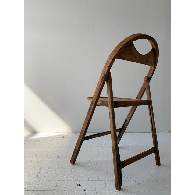 Tan 1930s Bauhaus Bent Wood Folding Chairs - a Pair For Sale - Image 8 of 13