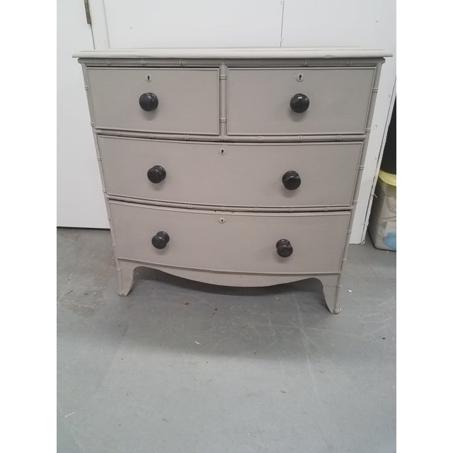 Antique English Painted Chest of Drawers For Sale - Image 13 of 13
