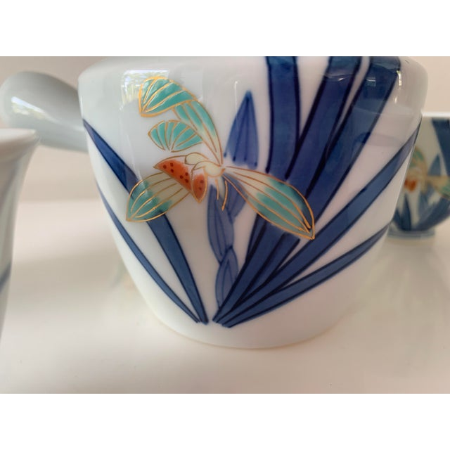 Japanese Contemporary Imaizumi Imaemon Tea Set - 6 Pieces For Sale In Miami - Image 6 of 12