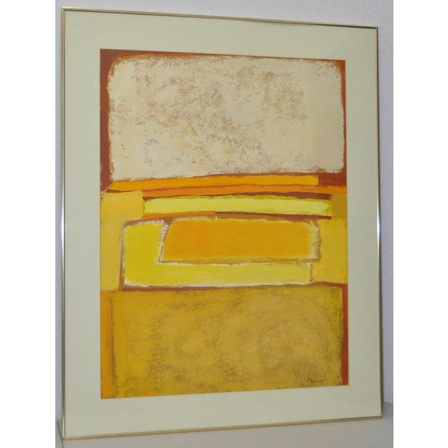 Classic 1970s Abstract Painting by Phyllis Cimenti - Image 2 of 7