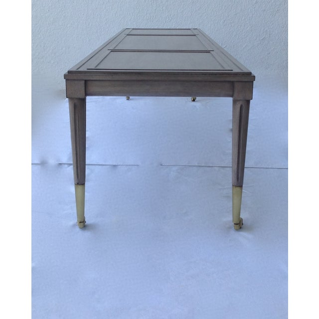 Italian Hollywood Regency Long Cocktail Table - Image 6 of 11