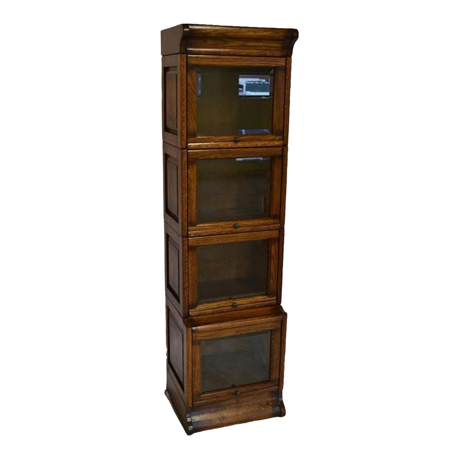 Crafters and Weavers Mission Narrow Barrister Bookcase ...