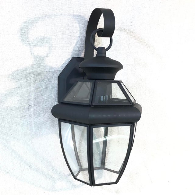 Livex Monterey 1-Light Outdoor Lantern Wall Sconce For Sale - Image 12 of 12