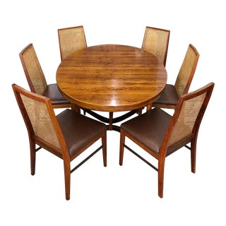 Danish Rosewood Dining Set by Dyrlund For Sale