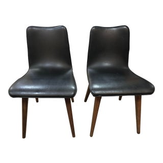 Vintage 1960s Sligh Lowry Mid-Century Modern Dining/Occasional Chairs - a Pair For Sale