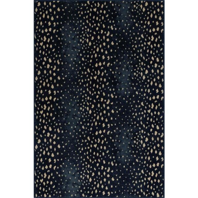 """2010s Stark Studio Rugs Deerfield Blue Rug - 3'11"""" X 5'10"""" For Sale - Image 5 of 5"""