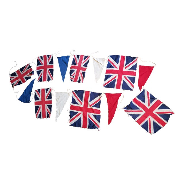 Coronation Flag Bunting For Sale