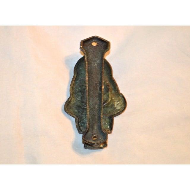 Witch 1927 Bronze Door Knocker For Sale - Image 9 of 9