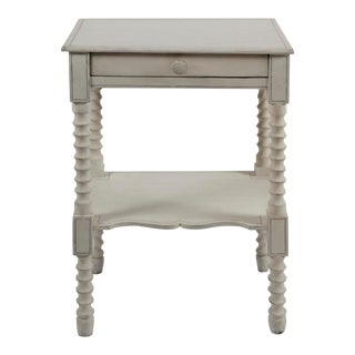 Antique Painted Side Table For Sale
