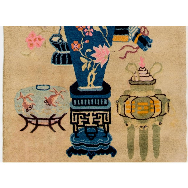 Art Deco Early 20th Century Chinese Art Deco Rug For Sale - Image 3 of 8