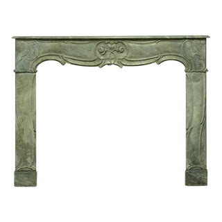 Elegant 18th Century Dutch Louis XV Fireplace Mantel For Sale