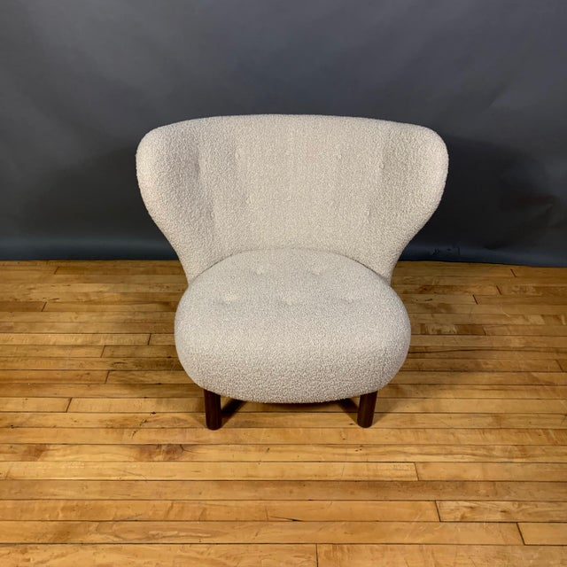 "Viggo Boesen, ""Little Petra"" Lounge Chair, Designed 1938 For Sale In New York - Image 6 of 11"