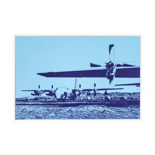 C130 Propeller Framed Photograph For Sale