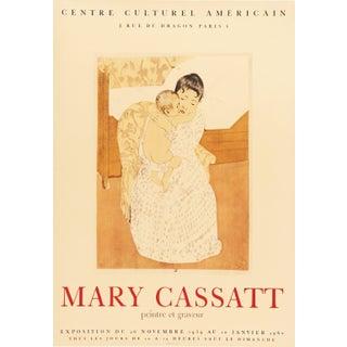 Mary Cassatt Peintre Et Graveur Centre Culturel Americain Poster For Sale