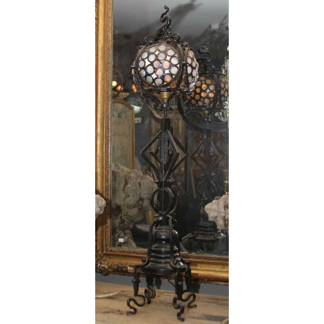 Hand-wrought Arts & Craft Table Lamp - Image 9 of 10